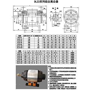 DLZ3系列组合离合器